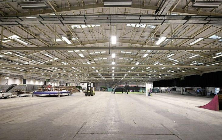 Norlin launch Belfast's largest indoor fanzone at S13